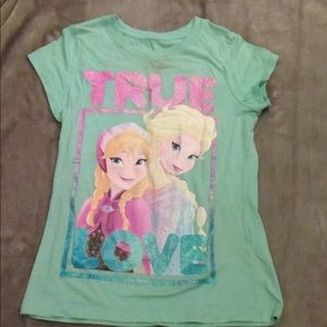 Other - Frozen t-shirt with Anna and Elsa